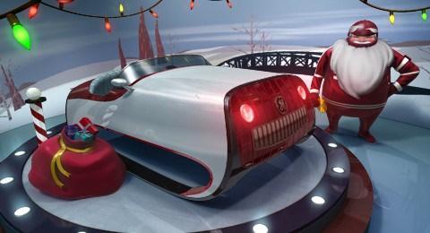 GE Santa's sleigh